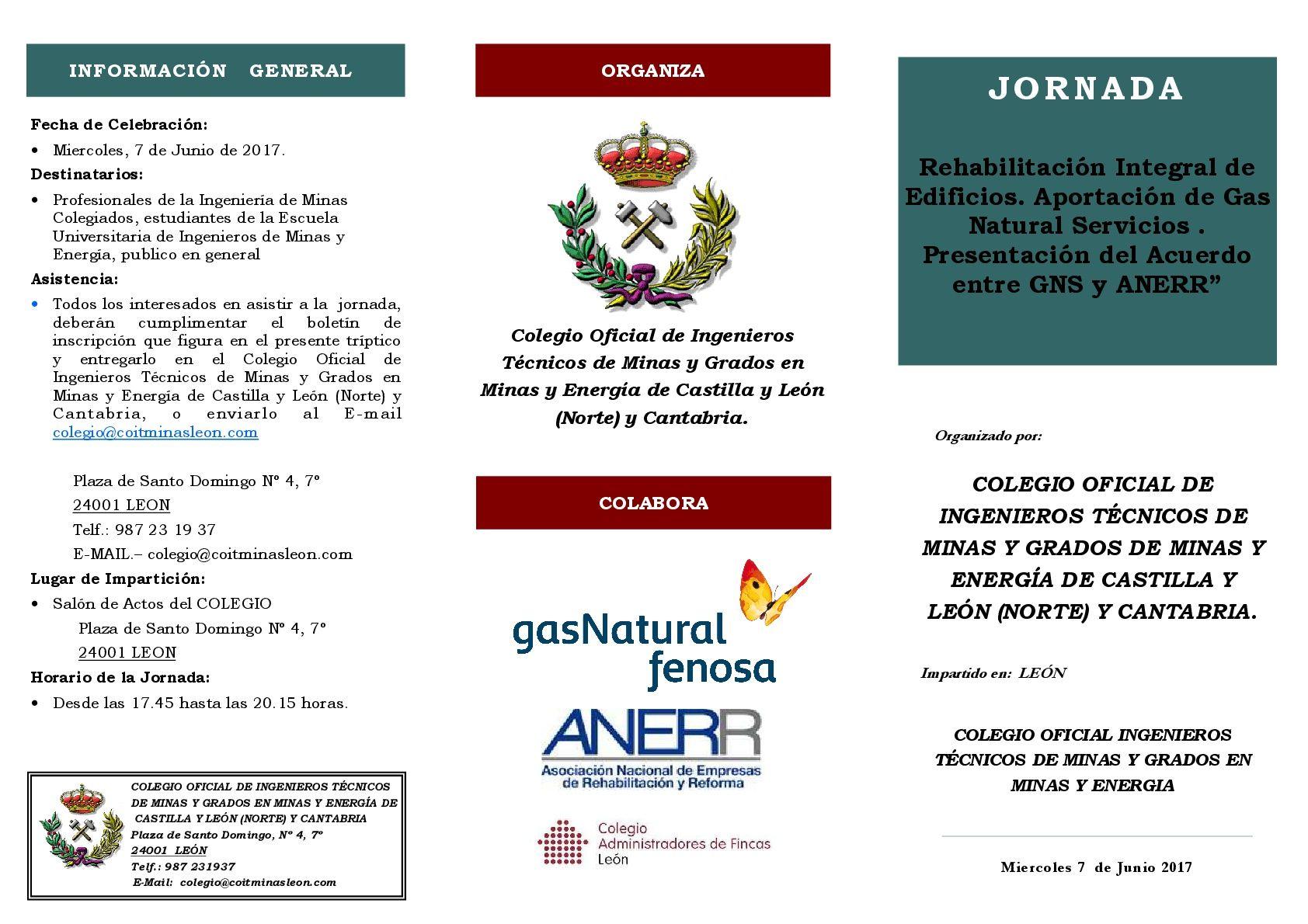 Jornada rehabilitacion integral de edificios aportacion for Gas natural servicios